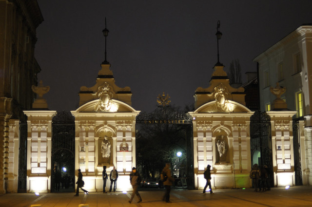 Header of University of Warsaw