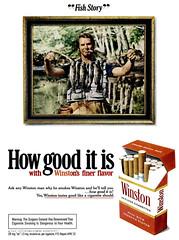Winston Ad (Popular Science - October 1972)