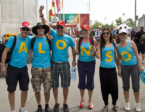 Alonso fans