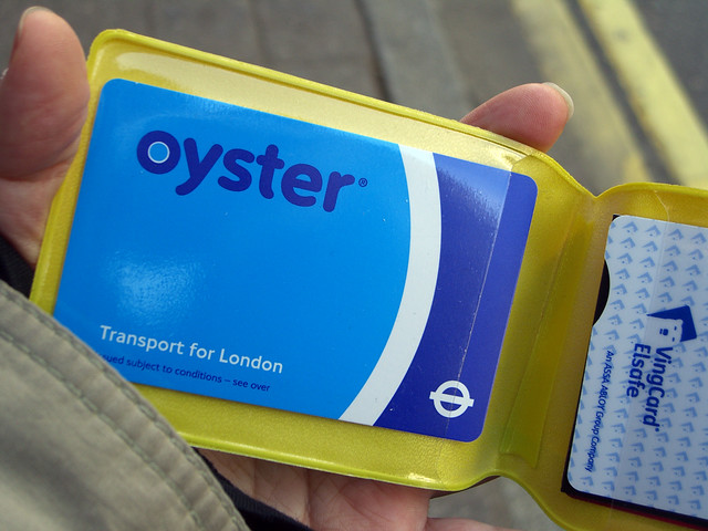 Buy an Oyster Card while studying in the UK capital