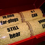 10000 earplugs and I can still hear you lie