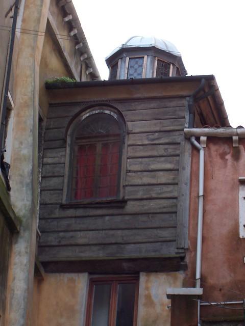 Venezia - Particolare della Sinagoga al Ghetto