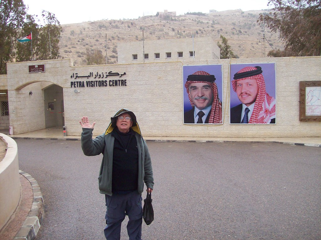 Me at Petra Visitor's Center