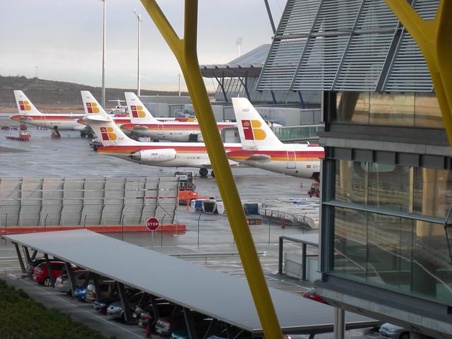 Madrid Terminal 4 Iberia