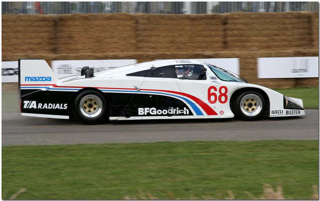 Mazda Lola IMSA GTP Goodwood Festival Of Speed 2008