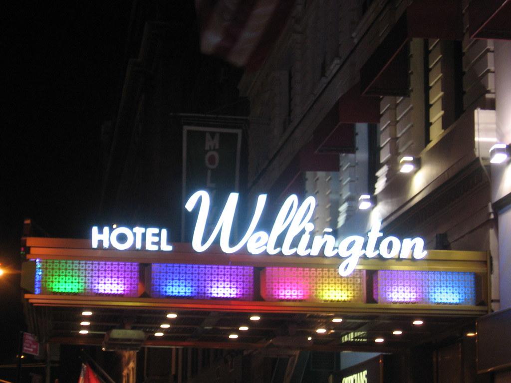 Hotel Wellington, Manhattan