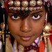 Tuareg girl with jewels, Ghadames, Libya