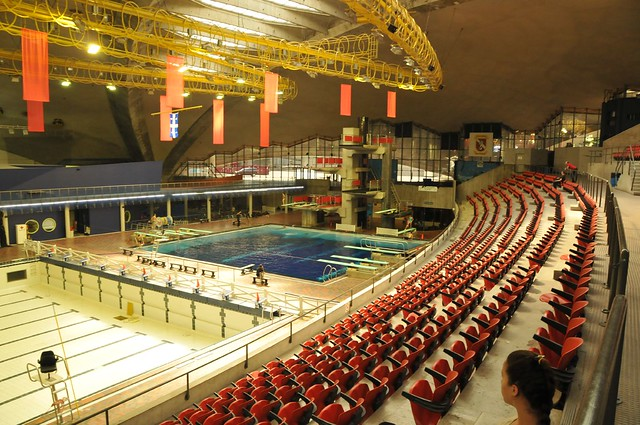 Piscine olympique de montr al flickr photo sharing for Piscine olympique