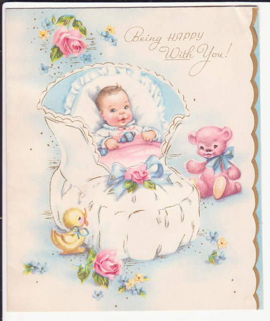 1957 Baby Card | Flickr - Photo Sharing!
