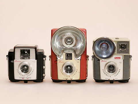 Kodak Brownie's: Starlet, Starflash & Starmite