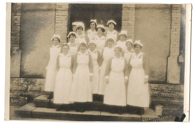 Group of nurses, Base Hospital #45