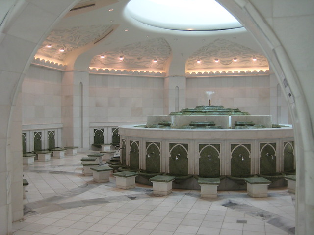 Ablution room, Shaikh Zayed Mosque
