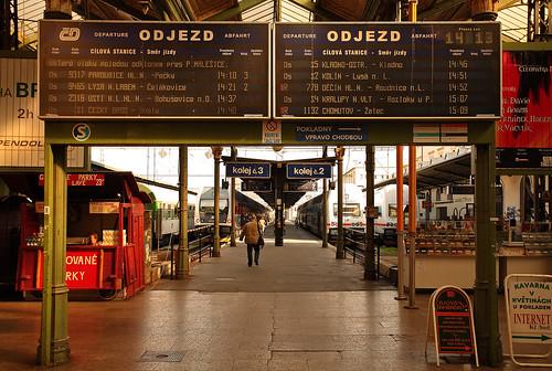 Masaryk Railway Station (Praha Masarykovo nádraží)