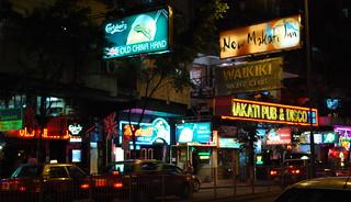 Bars on Lockhart Road, Wanchai