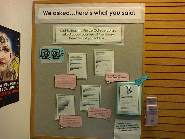 Comment Board At The Pierce College Library At The Puyallu Flickr