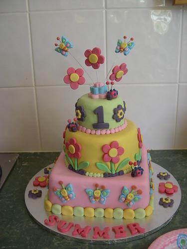 1st birthday cake designs for girls Interior Design Decoration