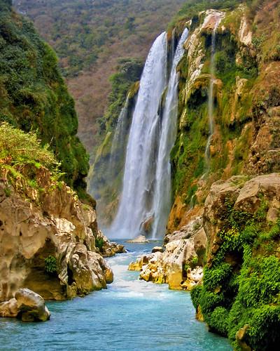 water rio méxico river mexico waterfall eau mexique cascade cascada slp huasteca sanluispotosi tamul
