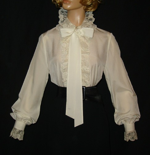 Frilly Victorian Blouse 105