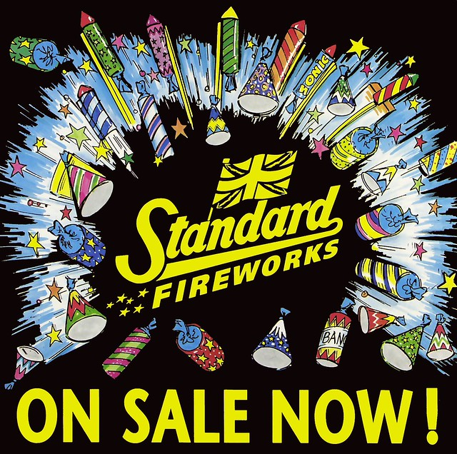Standard Firework Poster - On Sale Here