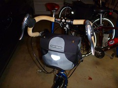 NWT handlebar bag solution