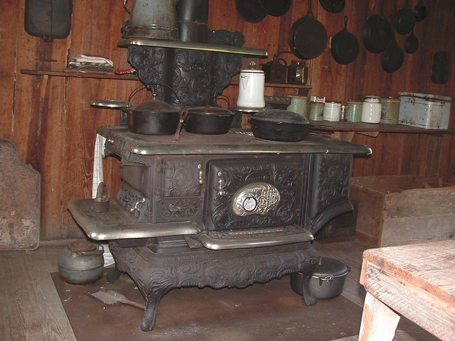 Old Wood Stove Flickr Photo Sharing