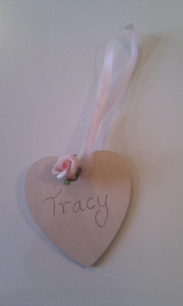 Wedding place marker