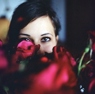 Eyes in a rose #2