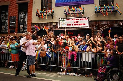 State Senator Tom Duane, New York City Gay Pride Parade 2011, Greenwich Village, New York City - 8
