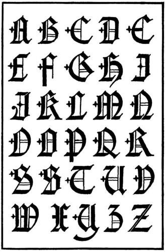 20 tipos de letras para dibujar  graffitis y goticas