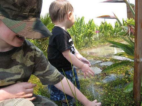 sprinklers, water play, baby, babies, toddler IMG_3690