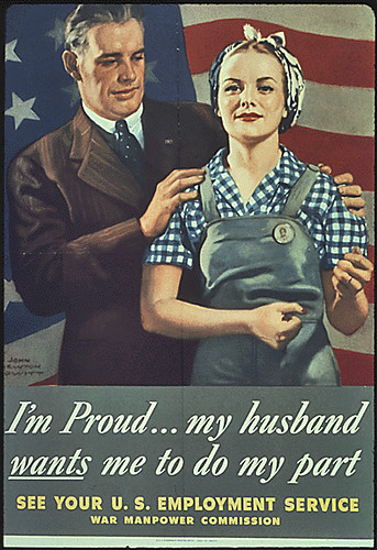WW2 - Working Women - I'n proud...5x7