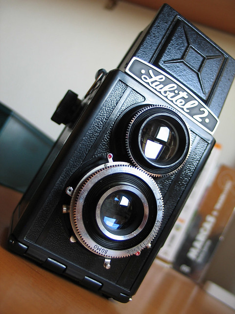 My new toy camera: Lubitel 2