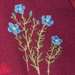 1981 Kneeler G 1a Flax Needlepoint