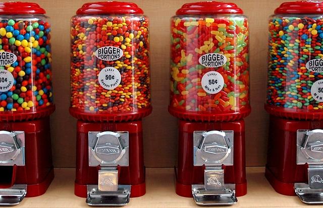skittles vending machine for sale