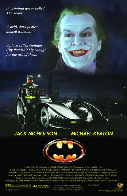 Batman 1989 Movie Poster Final Copy A Photo On Flickriver