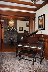 Starr Piano in the Foyer of the Gennett Mansion