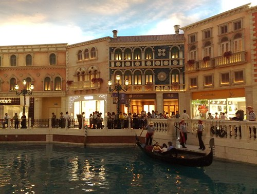 Venesia rasa Asia