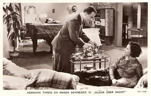 Hermann Thimig & Magda Schneider