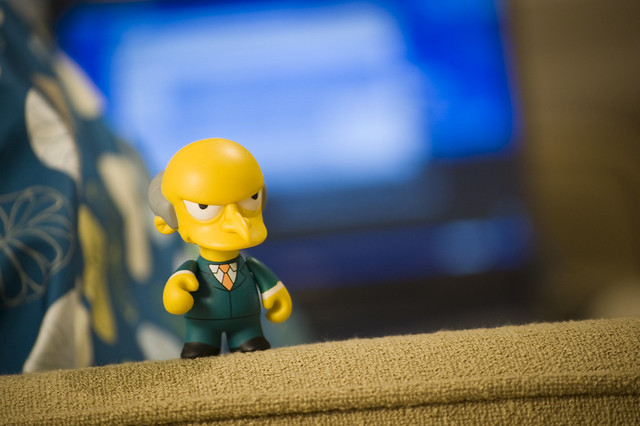 Mr. Burns - Simpsons collections by Kidrobot
