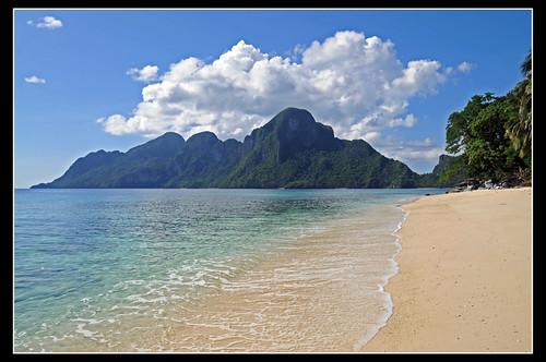 voyage travel viaje cloud sun sol azul soleil nikon southeastasia paradise philippines playa ciel plage paraiso nube paradis filipinas sueño palawan d300 cation archipel westernvisayas bacuit arquipielago