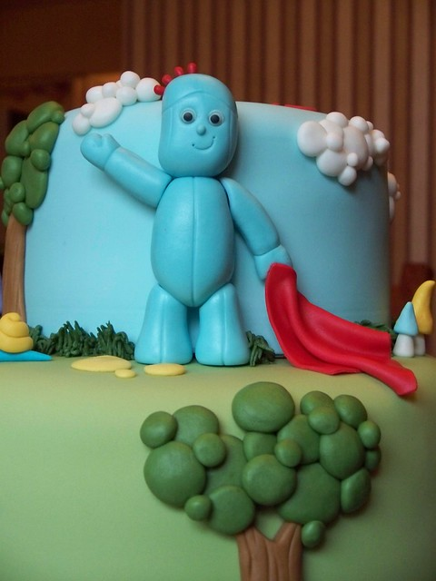 Close up of Iggle Piggle