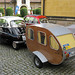 BMW Isetta + wooden teardrop