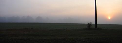 usa fog sunrise us md gallery unitedstates maryland beltsville beltsvilleagriculturalresearchcenter