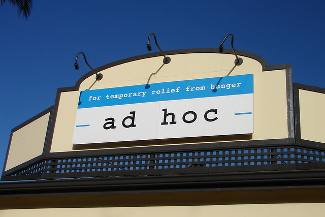 Header of ad hoc