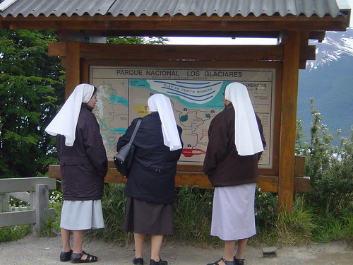 Nuns on holiday. (Photo: pandrcutts, Flickr)