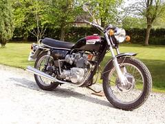 1973 Triumph T150V