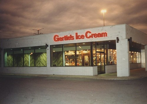 Gerties Ice Cream at the Ford City East location. Chicago Illinois. October 1982. by Eddie from Chicago