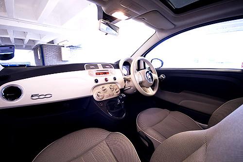 Verwonderlijk Fiat 500 Interior   dobbo_sf   Flickr QF-48