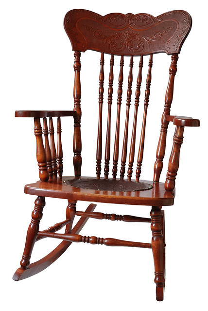 Antique Wooden Rocking Chair Flickr Photo Sharing
