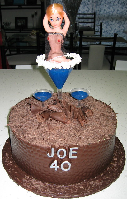 Joe s 40th Birthday Naughty cake Flickr - Photo Sharing!